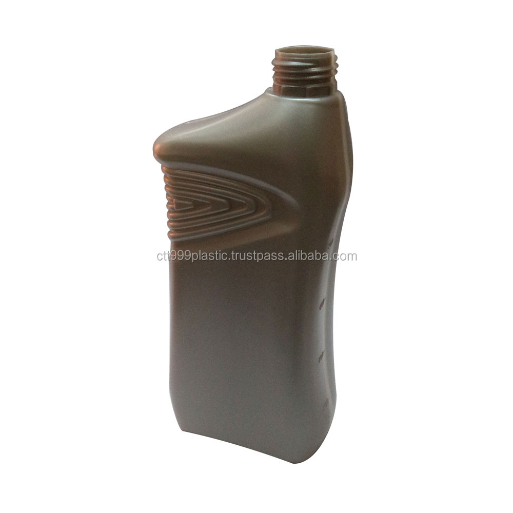 1L HDPE, PP lubricant engine oil plastic bottle