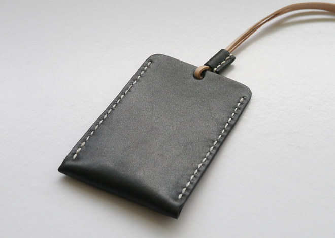 Cardwallet with Coin Pocket Strap Necklace