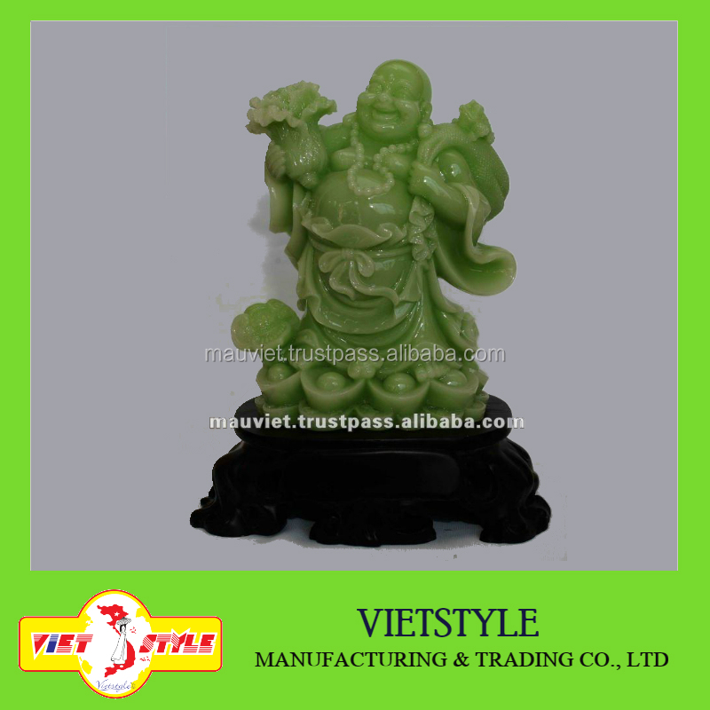 Polyresin Buddha statue for home decoration