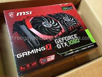 All New MSI Geforce GTX 1080 Gaming X Twin Frozr Edition 8GB Graphics Card NEW SEALED