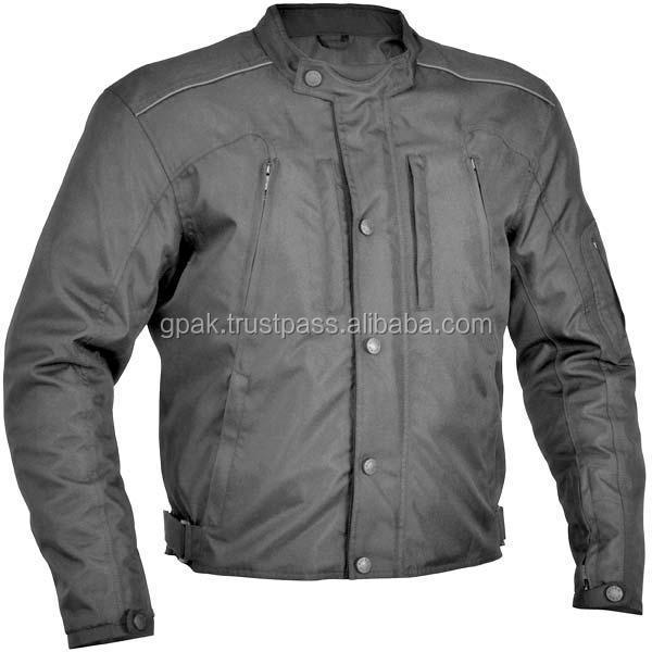High Visibility 600D Cordura Motorcycle Jacket
