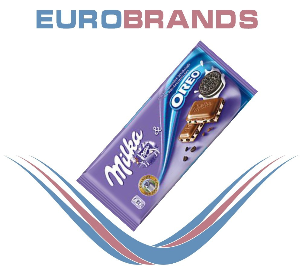 Milka & Oreo Chocolate 100g