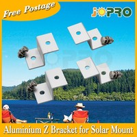 AU Stock Z Bracket Mount Easy - suit for small solar panel 4 for 1set