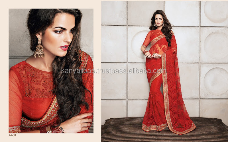 Designer party wear heavy bridal weara saree or normal wear sarees and lehenga for this wedding season