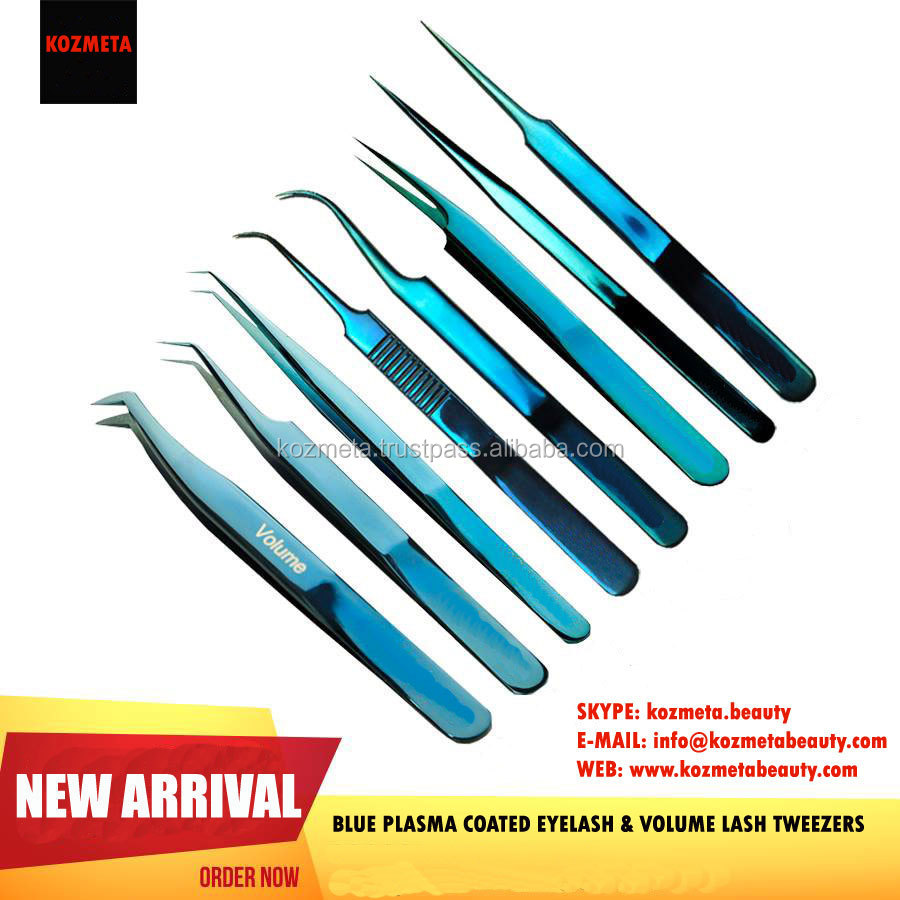 Volume Lash Tweezers in Japanese Steel/ High Quality Volume Tweezers in Japanese Steel/ NEW Japanese Steel Volume Tweezers