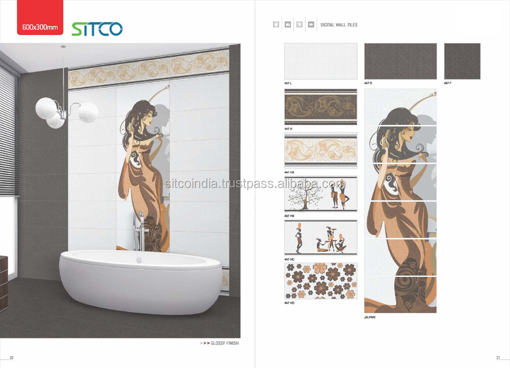 Amazing Modern Tiles With Picture Design
