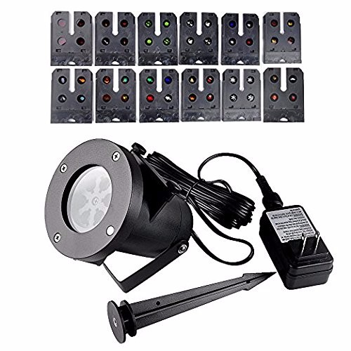 outdoor led film making light Led landscape Projector Light 12 units slides film light