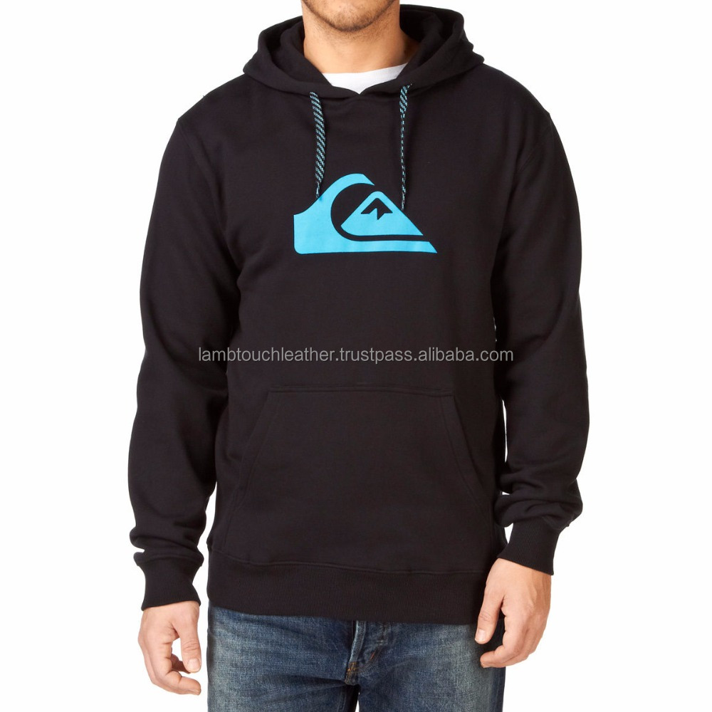 Wholesale 100% micro fiber work man casual wear front zipper hoodies, Silicon Printed Hoodies