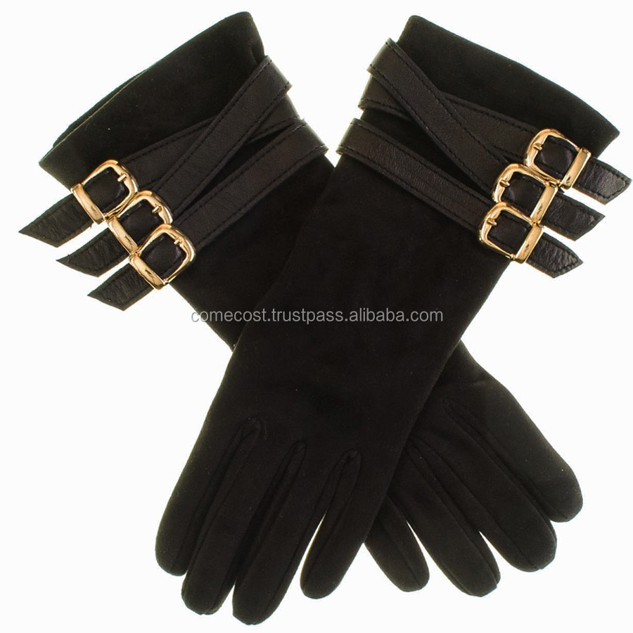 High Quality Women Winter Driver Gloves / leather Car driving gloves