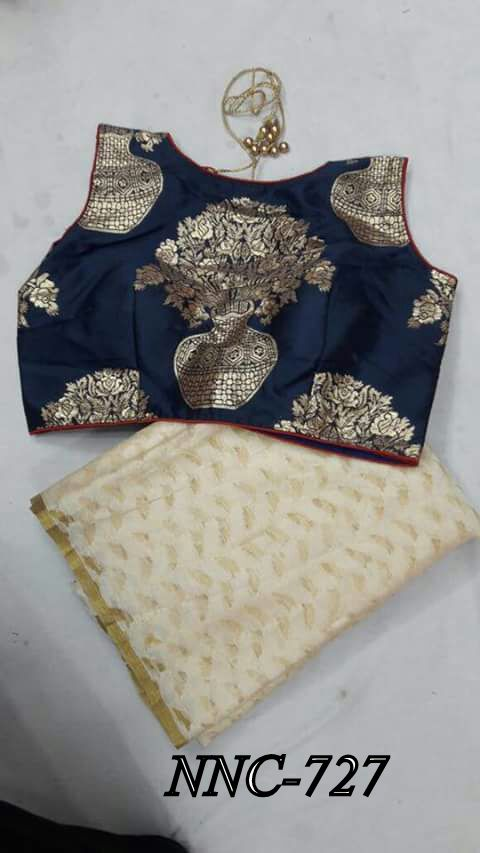 patola saree with stitched blouse