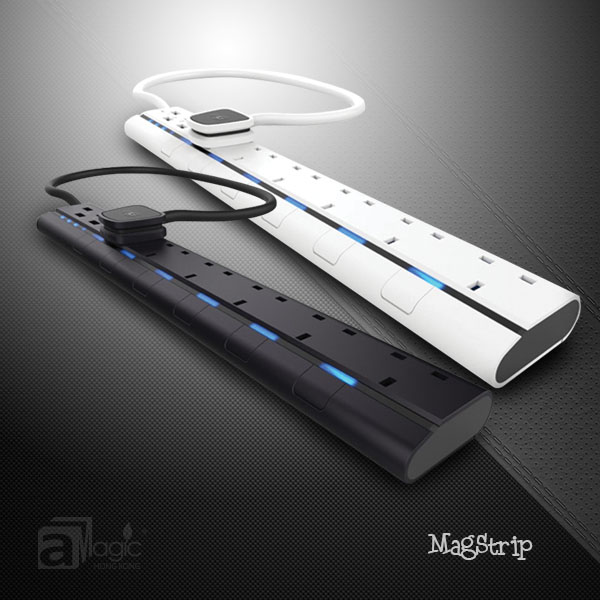 aMagic Smart Power Strip 4/6 Socket for UK Plug with BS1363 UK multiplug 4USB output power strip with individual switches