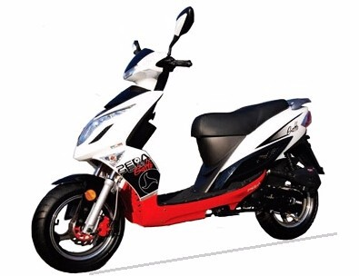 (PEDA Motor Italy Shipping) 2016 Summer Promotion Big Discount Motorcycle for Sale 50cc 2 stroke EEC Scooter Moped (Gatto)