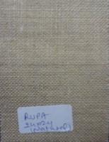 designer 100% natural finish burlap fabric