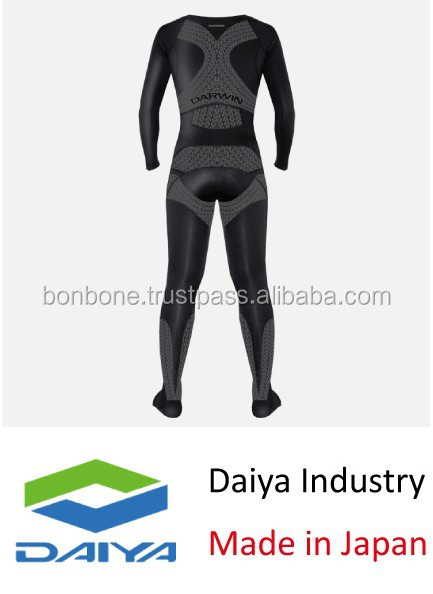 Custom design Running Compression Tights, Original Function, For OEM, Made in Japan