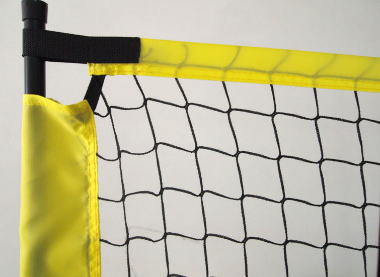 High quality badminton net for training, portable badminton net QLM7008A