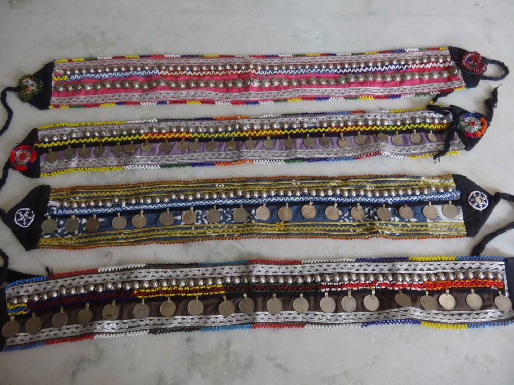 banjara kutchi belts for bely dancer