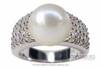 Akoya Pearl Ring Jewelry
