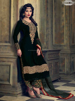 Wholesale Semi-Stitched Salwar Suits | Kashmiri Embroidery Salwar Kameez