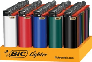 bic lighters j25, j24 and other models