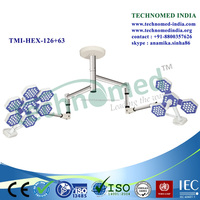 TMI-HEX-126+63 50 000 hours long life span led surgery lamp