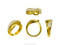 3D CAD Jewellery Design