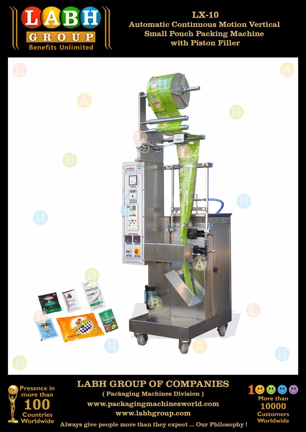 Most Popular India Best Form Fill Seal Sachet Packaging Machine for Juice PM1769