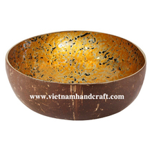 vietnam lacquered wooden coco bowls