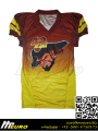 custom sublimation american football jersey