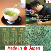 Japanese organic sencha blend with matcha green tea powder for sale