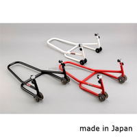 Light-lift and sturdy paddock stand for motorcycle, made in Japan