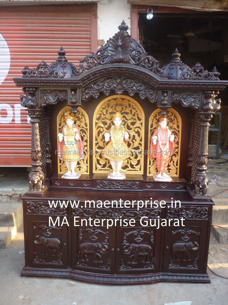 Indian Wooden Altar for home
