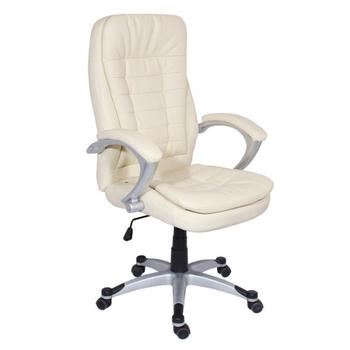 High back quality manager ergonomic computer PU swivel desk office chair with PP base CARMEN 6013 in 12 colors