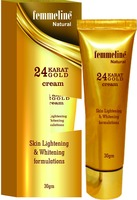 FEMMELINE 24K PURE GOLD WHITENING CREAM