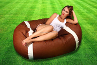 Large American Football Bean Bag Quality Faux Leather