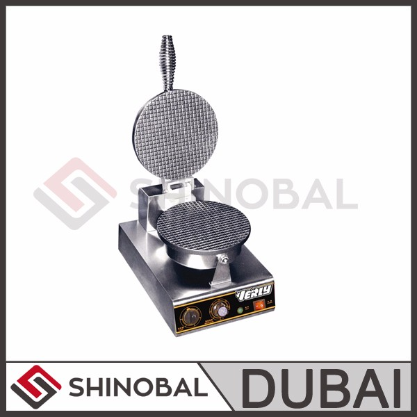 Dubai Shinobal Single Head Cone Baker Ice Cream Cone Making Machine