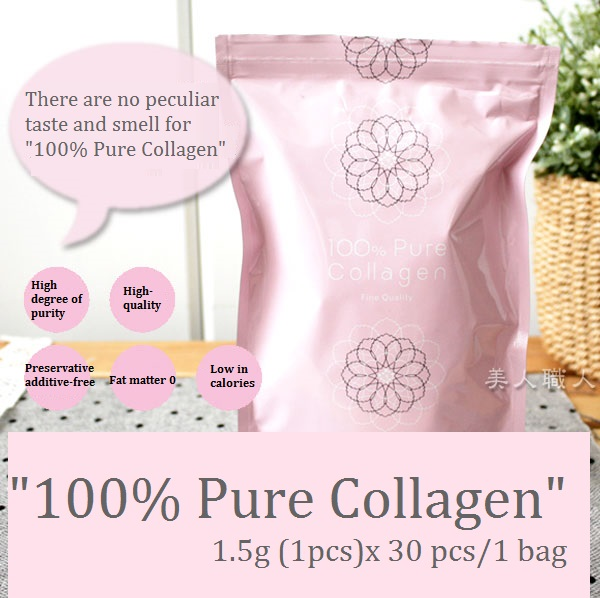 "Functional and High quality collagen powder ""100% Pure Collagen"" with Anti-aging made in Japan"