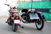 EURO MODEL SIDECAR FOR ALL MOTORCYCLE AND SCOOTER harley davidson,royal enfield,lambretta ,vespa