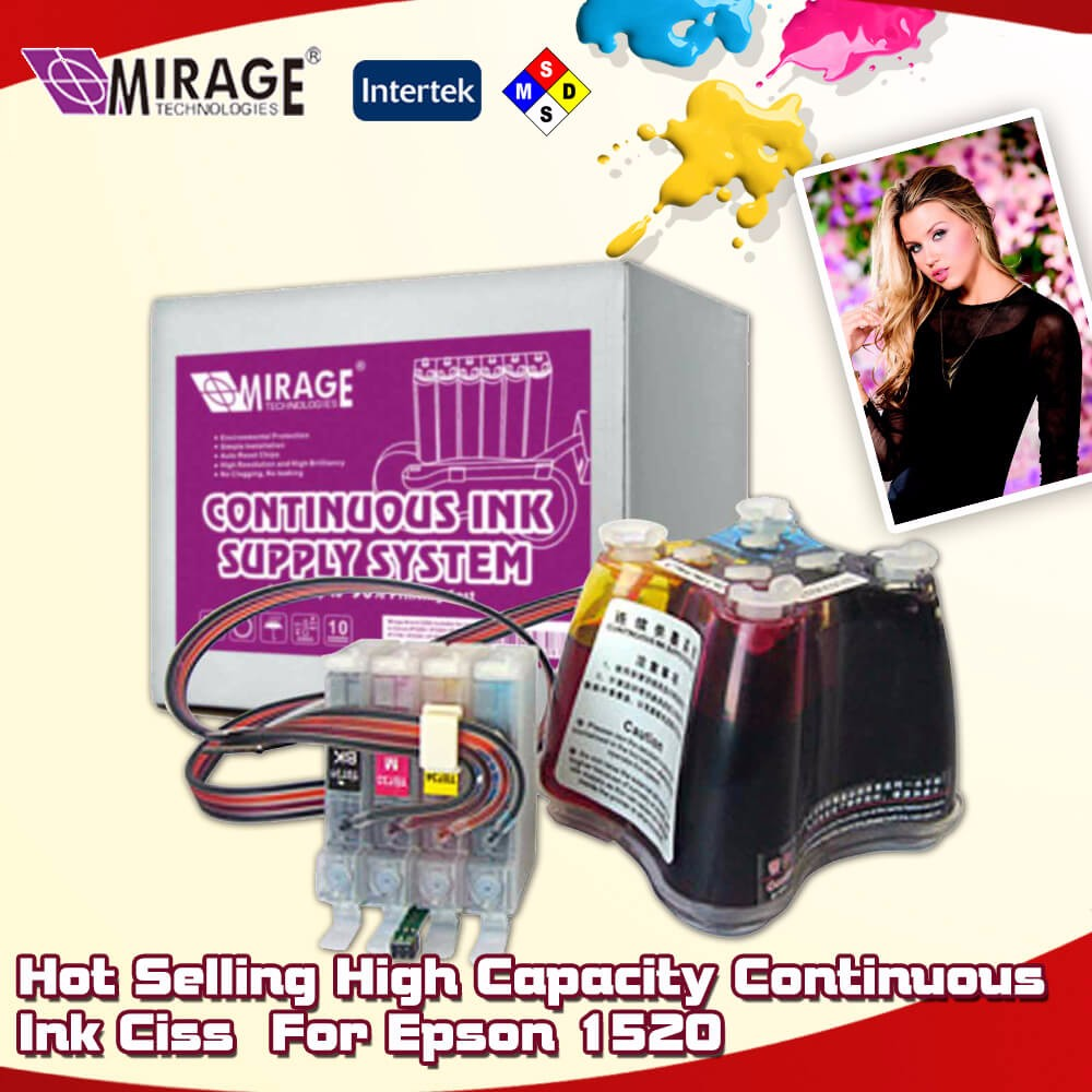 High Continuous Printer Ink Jet CISS For Epson 1520