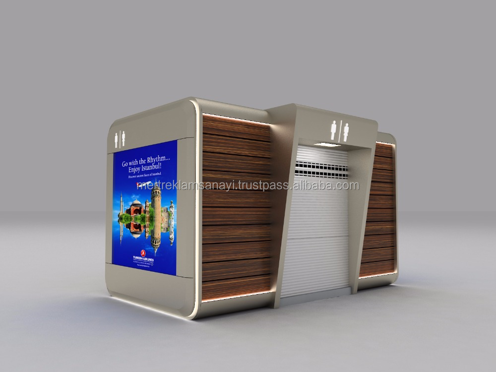 New Design for festival Fairy Indoor Outdoor Modular WC Cabin Kiosk Indoor candy design Ice cream w