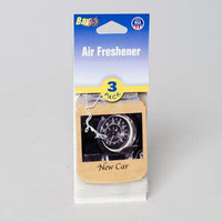 AIR FRESHENER 3PK NEW CAR #10143