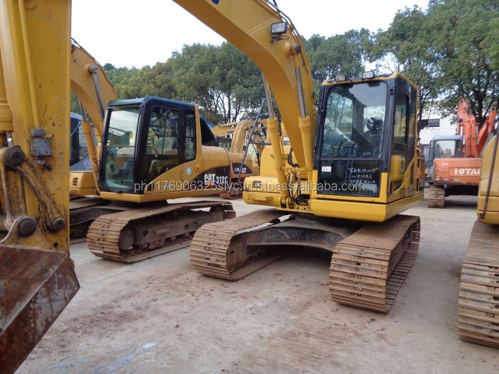 High Quality Used PC120-8 Mini Komatsu Excavator for Sale