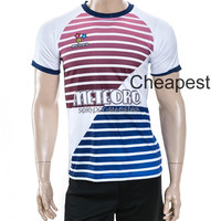 Healong dye sublimated custom made heat transferred Wholesale Custom Soccer Jersey dri fit