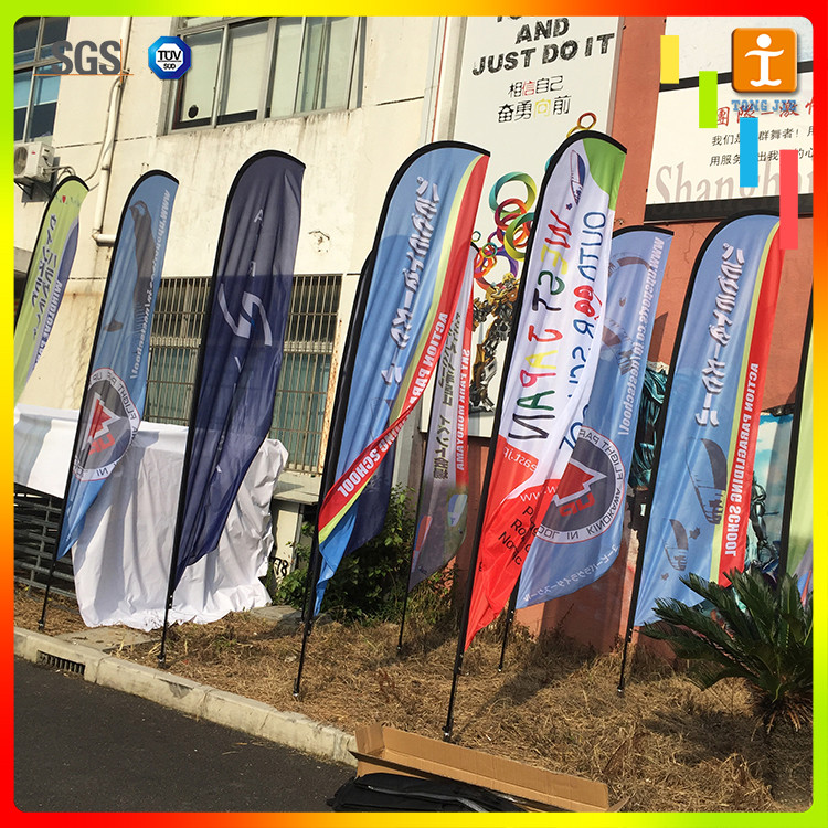 Popular printed flex vinyl banners flags custom flag outdoor for advertising or promotion