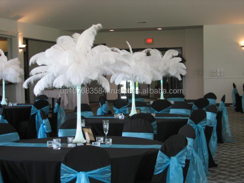 Wedding decoration ostrich feathers