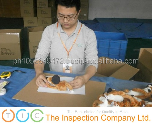 Stuffed Animals & Plush Toys During Production (DuPro) Inspection in China