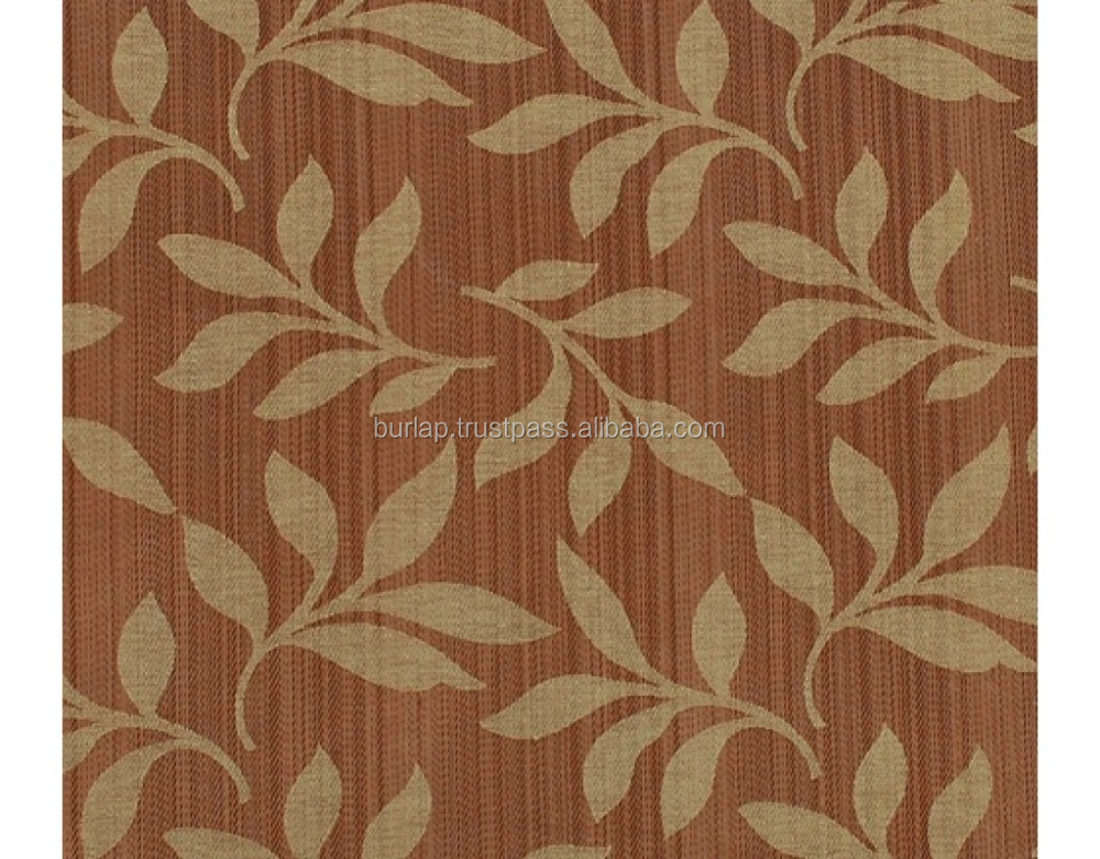 heavy weight chenille jacquard fabric
