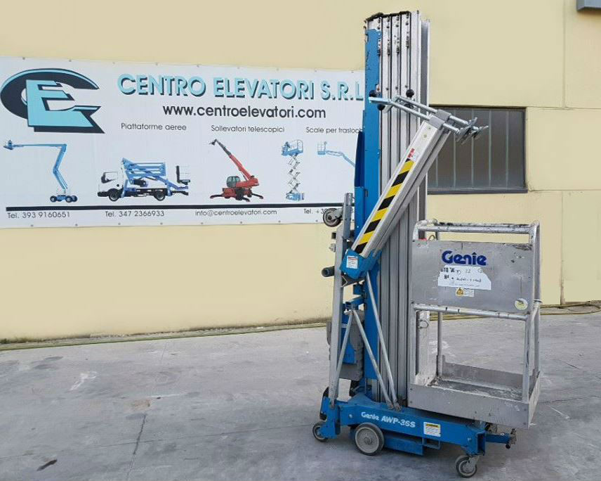 PERSONEL LIFT -PEOPLE ACCES LIFTING GENIE AWP 36 DC