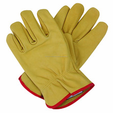 goat leather working gloves
