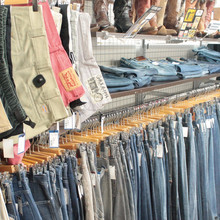 Wide variety of men and ladies sell used clothes from Japanese thrift store