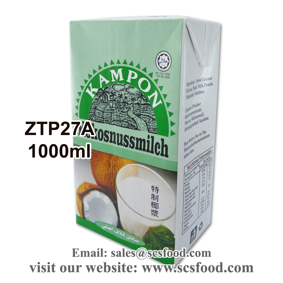 Coconut Milk / Coconut Cream / Santan 1000ml